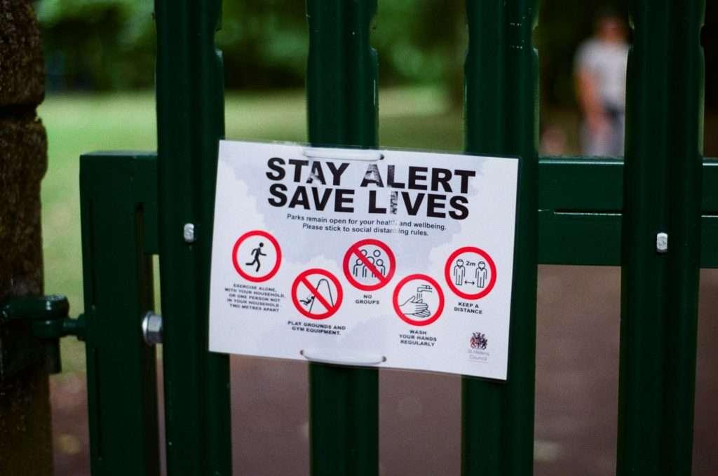 Stay Alert - Save Lives